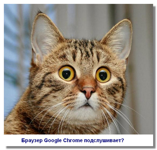 google-chrome-podslushivaet